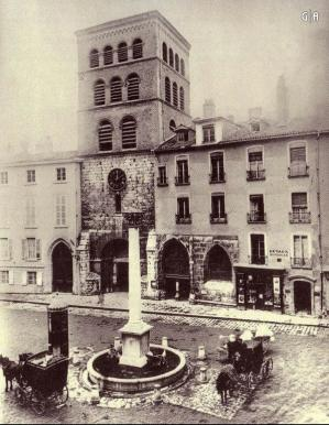 Grenoble place notre dame 1897